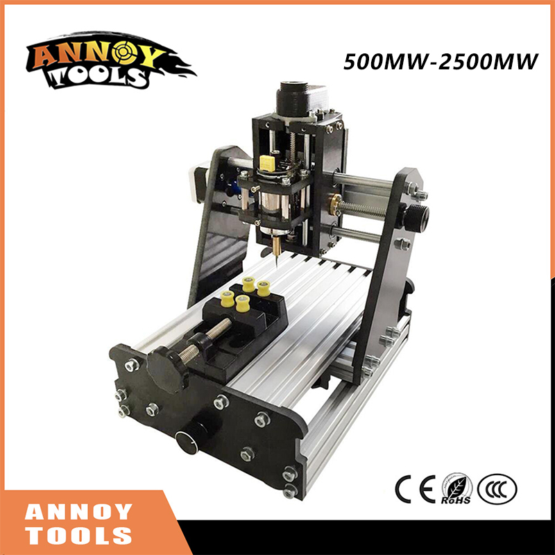 New ANNOYTOOLS CNC DIY engraving machine 3axis mini Pcb Milling Machine, Wood Carving machine, cnc router GRBL control 1610 mini cnc machine working area 16x10x3cm 3 axis pcb milling machine wood router cnc router for engraving machine