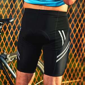 Image 5 - 산티 사이클링 반바지 Coolmax 4D 패드 Shockproof 남자 MTB 반바지 Santic R FEEL Anti pilling AIRFREE 자전거 타기 아시아 크기 KS007