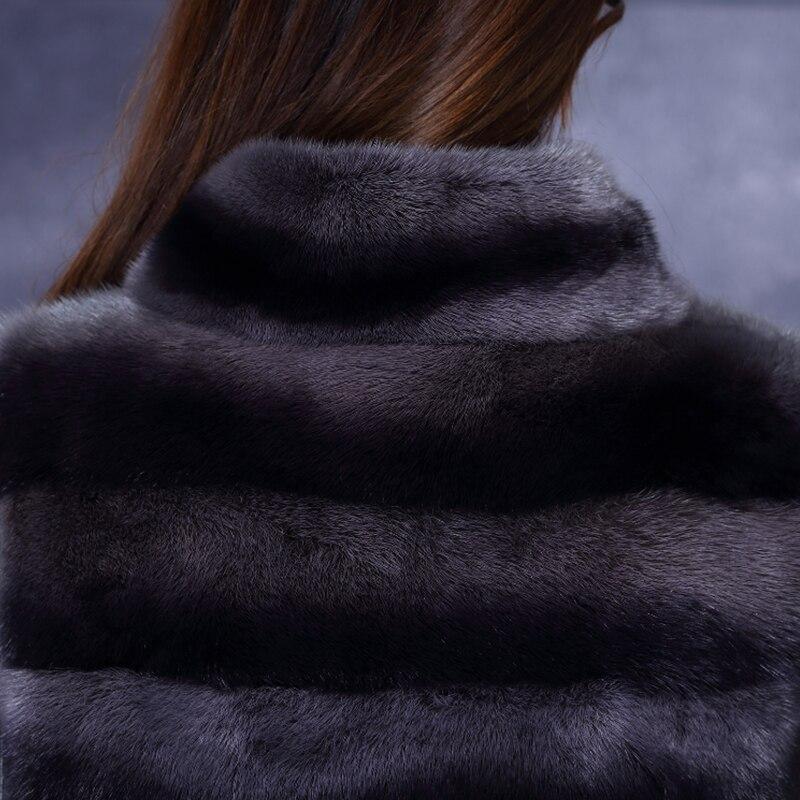 LVCHI Естествена кожа Дамски панталони - Дамски дрехи - Снимка 6