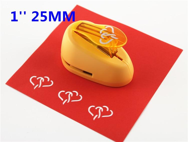 Free Shipping Heart Furador De Papel DIY Craft Punch EVA Creative Embosser  Punch Card Making Scrapbooking S2946