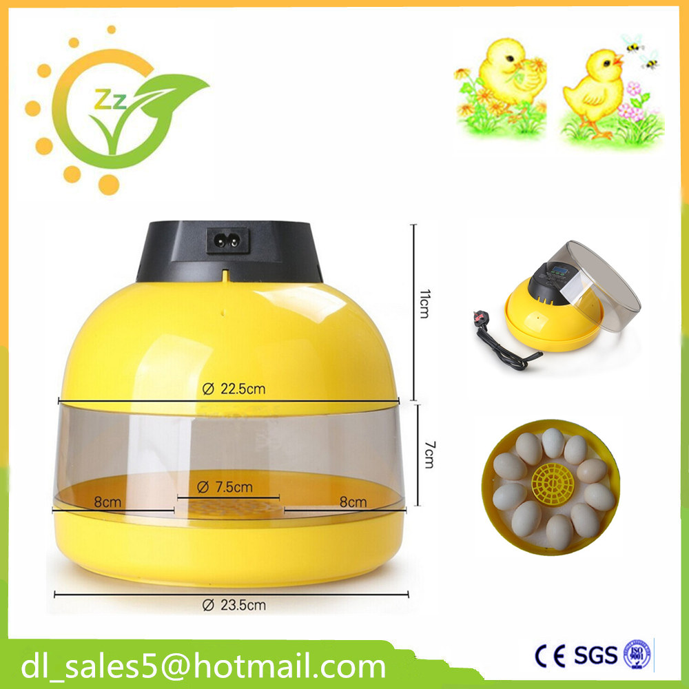 Free and Fast Shipping ! Automatic Eggs Incubator 10 Chicken eggs Incubator Poultry Hatcher UK SHIPING