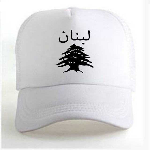 LEBANON male diy free custom name lbn unisex hat nation flag lb republic arabic arab lebanese country print photo baseball cap
