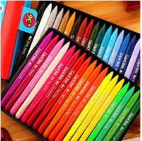 Juego de lápices de colores de plástico 12/18/24/36 juego de bolígrafos de Color de plástico lápiz de regalo para chico caliente