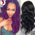 Full Lace Wigs Cheap Lace Front Wig Human Hair With Baby Hair Brazilian Wigs Body Wave 8A Grade Virgin Hair For Black Woman