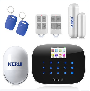 Nice Design LCD Display Wireless GSM Security Alarm system Home Smart Alarm with 99 Wireless Zone