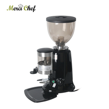 ITOP Electric Coffee Grinder Adjustable Dial Burrs Grinders Black/Red/Sliver For Maker Machine Commercial