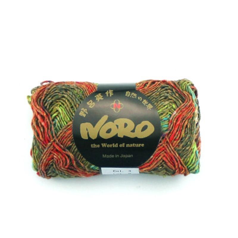 50g ball Noro Mirai Cotton Silk Blended Handknitting Yarn