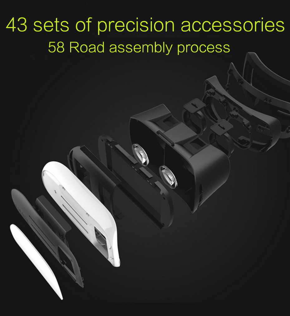 VR BOX 2.0 II Google 3D Glasses VR Glasses Virtual Reality Goggles Cardboard Headset Helmet For Mobile Phone iPhone 7 6 6s 5 7