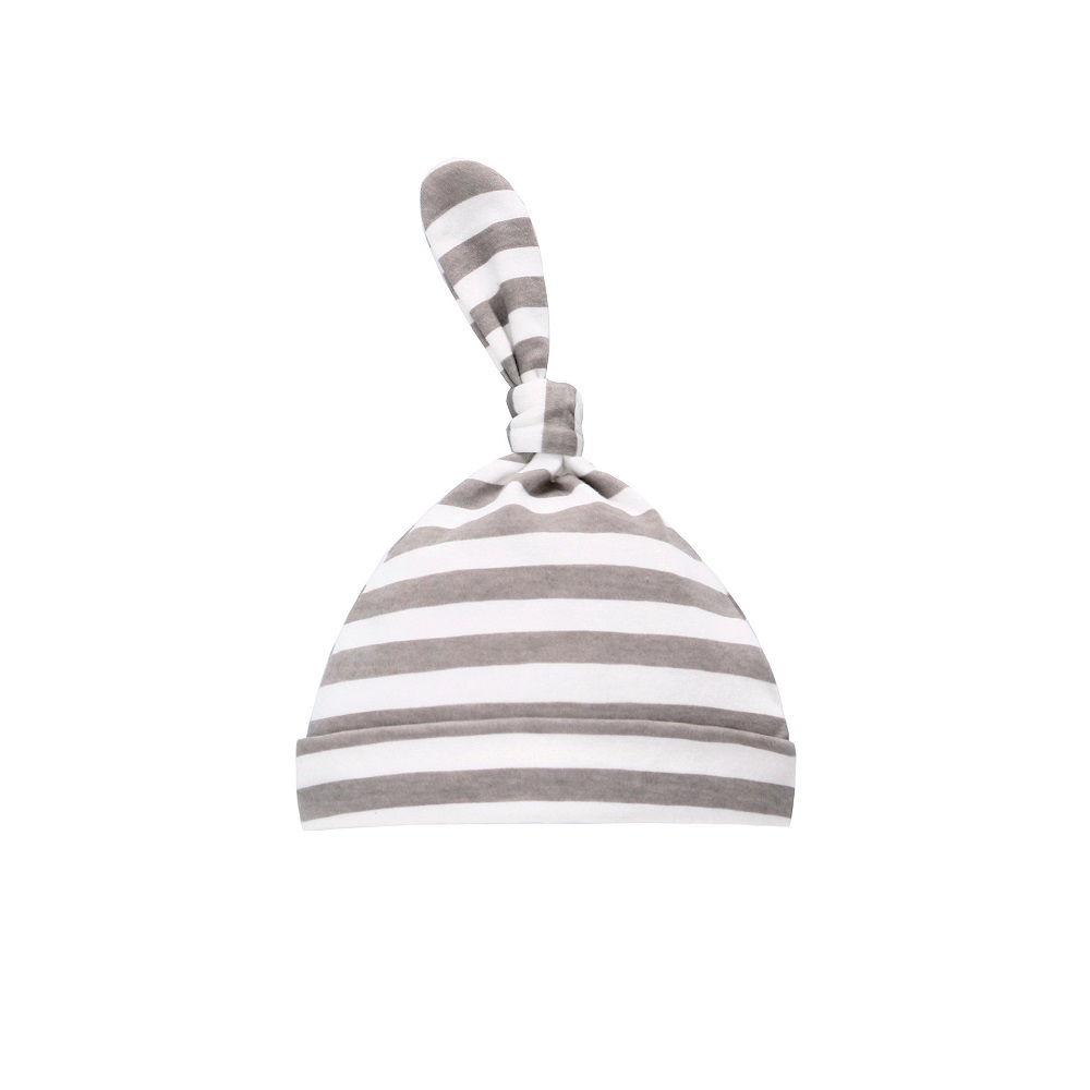 Grey Strips Hat