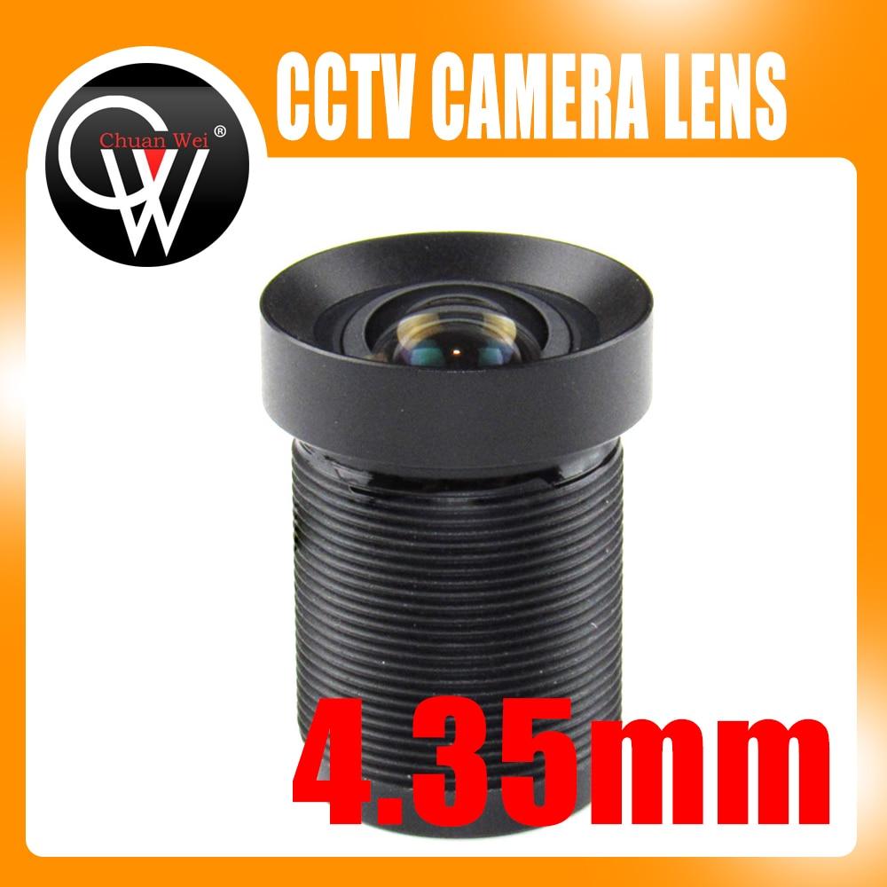4.35mm M12 1/2.3 IR Filter 72D 10Megapixel Action Camera Lens for Gopro Xiaomi Yi SJCAM Camera DJI Phantom Drones UAVS