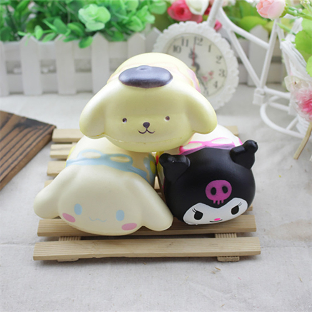 Drop Ship HIINST Fun Hamster Squishy Decor Slow Rising Kid Toy Squeeze Relieve Anxiet Gift OCT18