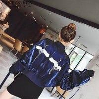 Harajuku jacket women bomber jackets autumn fashion bomber jacket women kimono cardigan AA2770 Y