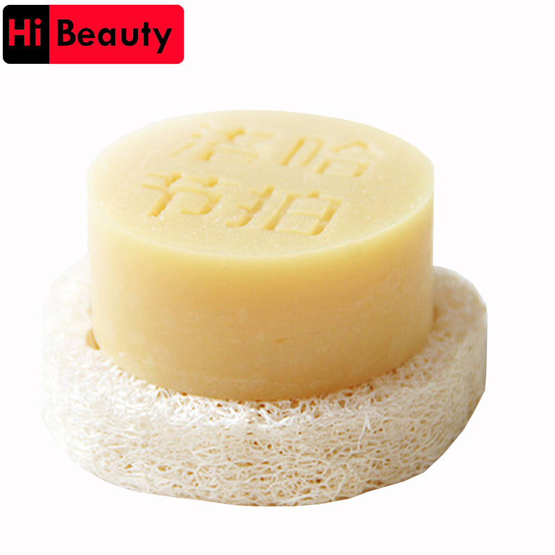 100pcs/lot 2cm Thick 6-8cm Wide Natural Loofah Luffa Slice DIY Customize Soap Tools Cleaner Sponge Scrubber Soap Holder