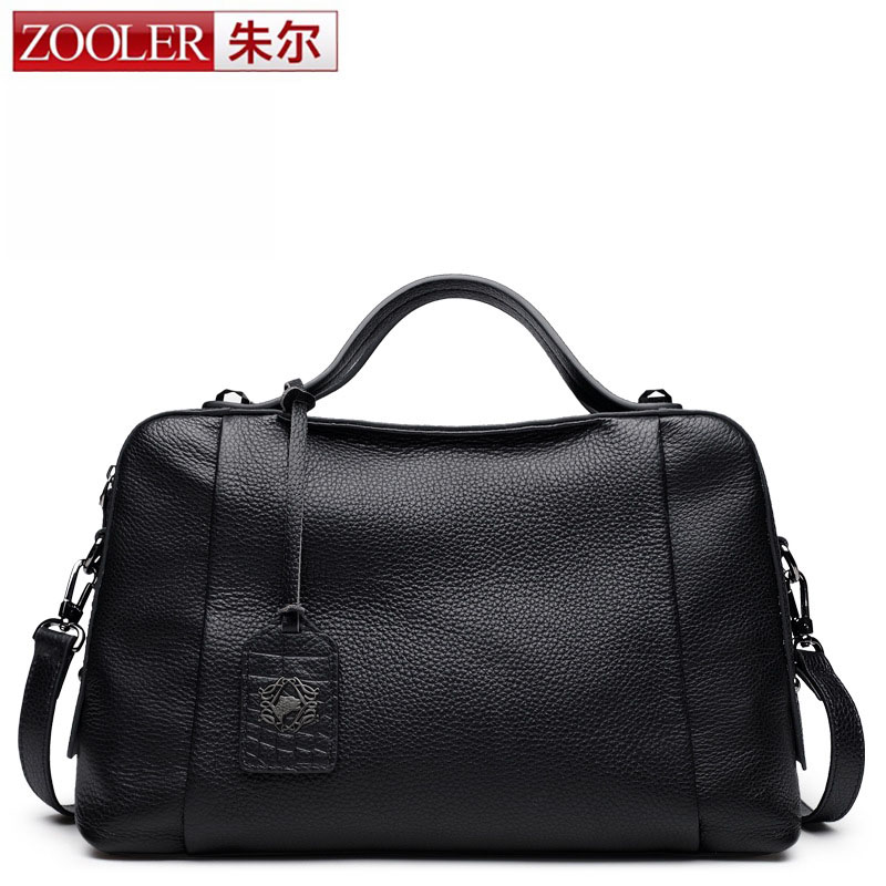 ZOOLER Designer Soft Genuine Leather Bags Ladies Famous Brand Women Handbags High Quality Tote Bag for Women Fashion Hobo Bolsos