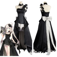 Fate Grand Order Cosplay Costume FGO Fate Grand Order Rider Marie Antoinette Cosplay Costume Dress Gown