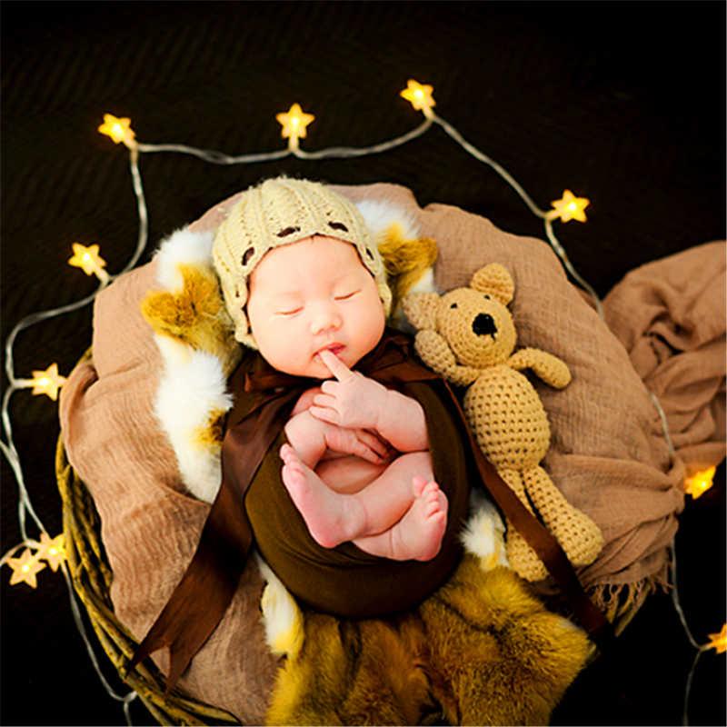Anulares Cesta Adereços Fotografia de Recém-nascidos do bebê Floral Decorar Caixa de Vime Photo Studio Acessórios