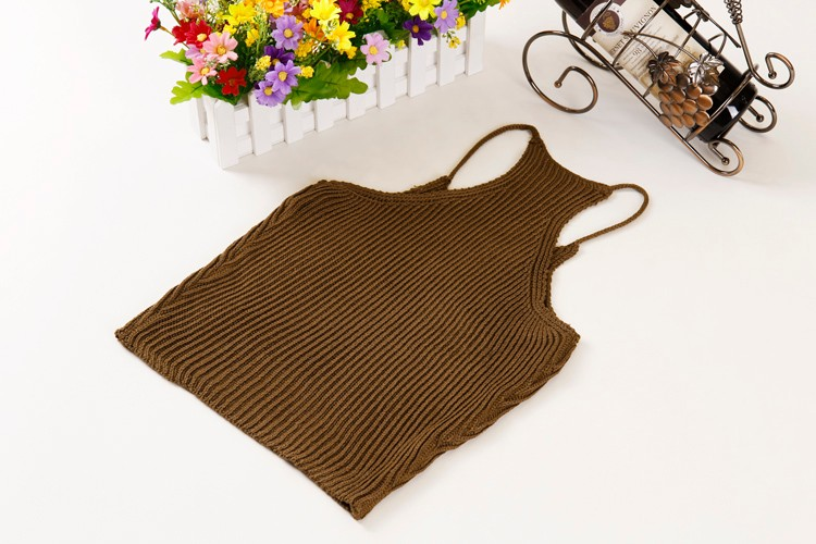HTB1mIshLFXXXXXSaXXXq6xXFXXXL - FREE SHIPPING Women's Short Cropped Knitted Tank Tops JKP308