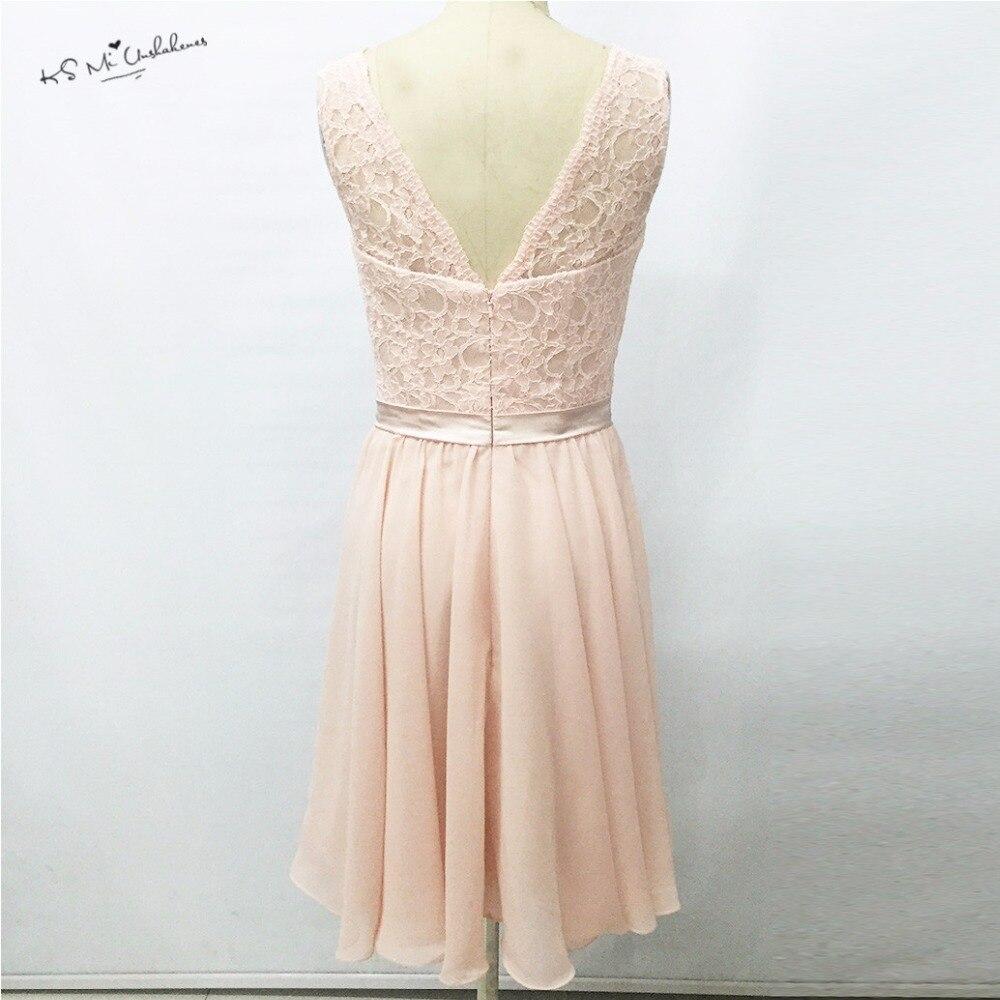 Großartig Rosa Spitze Brautjungfer Kleid Fotos - Brautkleider Ideen ...