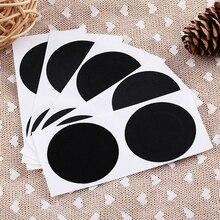 10 Pairs Round Breast Petals Pasties Self Adhesive Pasties Cover Bra Sticker Black цена