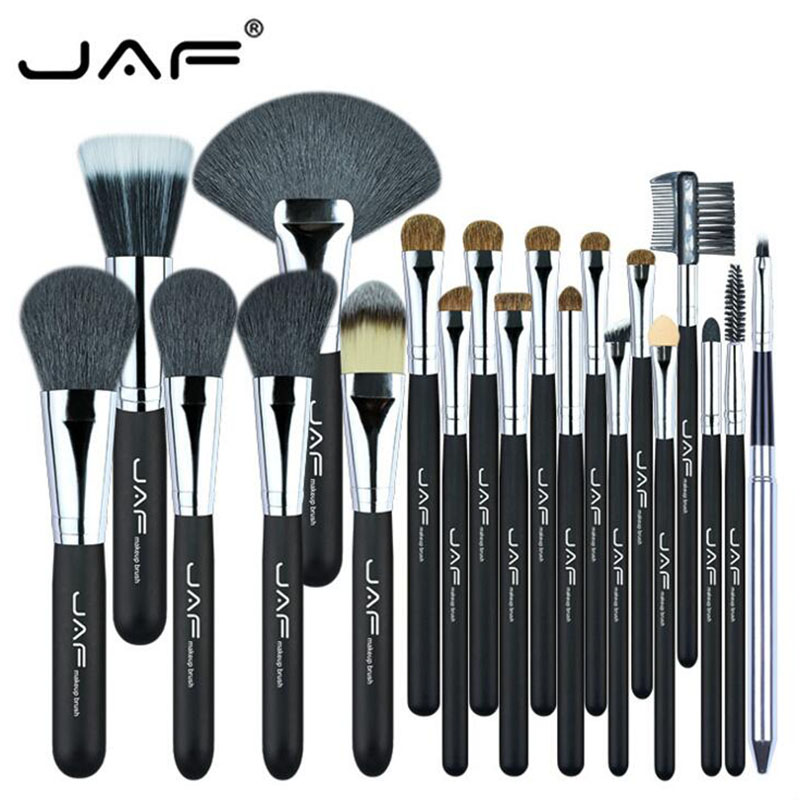 JAF 20 Pcs/Set Makeup Brushes Set Eyeshadow Brush Powder Foundation Eyeshadading Eyebrow Lip Eyeliner Brush Cosmetic Tool Kits 2017 new20pcs foundation eyeshadow eyeliner lip brush tool makeup brushes set powder new