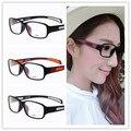 Mulheres novas Dos Homens Óculos de Leitura Estudando Brasão Film Propionate Ultraleve Translúcido Quadros Óculos de Leitura Preto Nenhum Grau