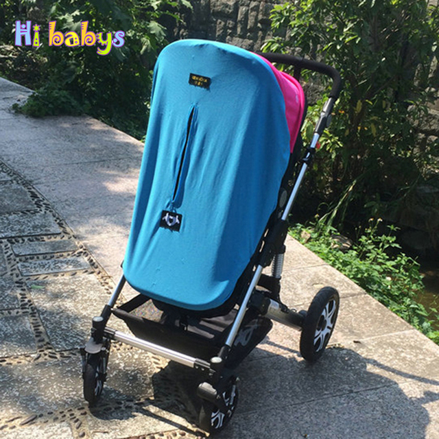 Baby Stroller Sun Shade Canopy Cover Pram Hood Cushion Pad Breathable Canopy Dustproof Blanket Baby Stroller Accessories & Baby Stroller Sun Shade Canopy Cover Pram Hood Cushion Pad ...