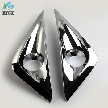ABS chrome For Toyota Rush 2018 accessories fog light cover trim For Toyota Rush 2018 car-styling lamp hood