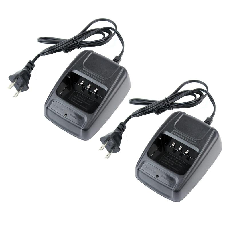 2PCS Baofeng BF-888S Battery Desktop Charger 110-240V For Baofeng BF-666S BF-777S BF-888S Retevis H777 Two Way Radio