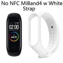 купить Chinese Version Xiaomi Mi Band 4 5ATM Waterproof Bracelet Heart Rate Monitor AMOLED Color Screen Fitness Tracker Smart Wristband дешево