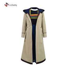 Doctor Who 13 Cosplay kosztümös kabát Jodie Whittaker kiábrázolják a hot sale movie tv kabátot COSDADDY
