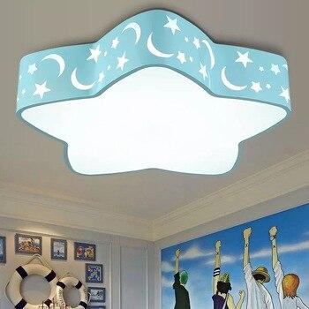 Creative Ocean Star LED Ceiling Light Candy Color Star Children's Room Light Kitchen Bedroom Study Ceiling Light