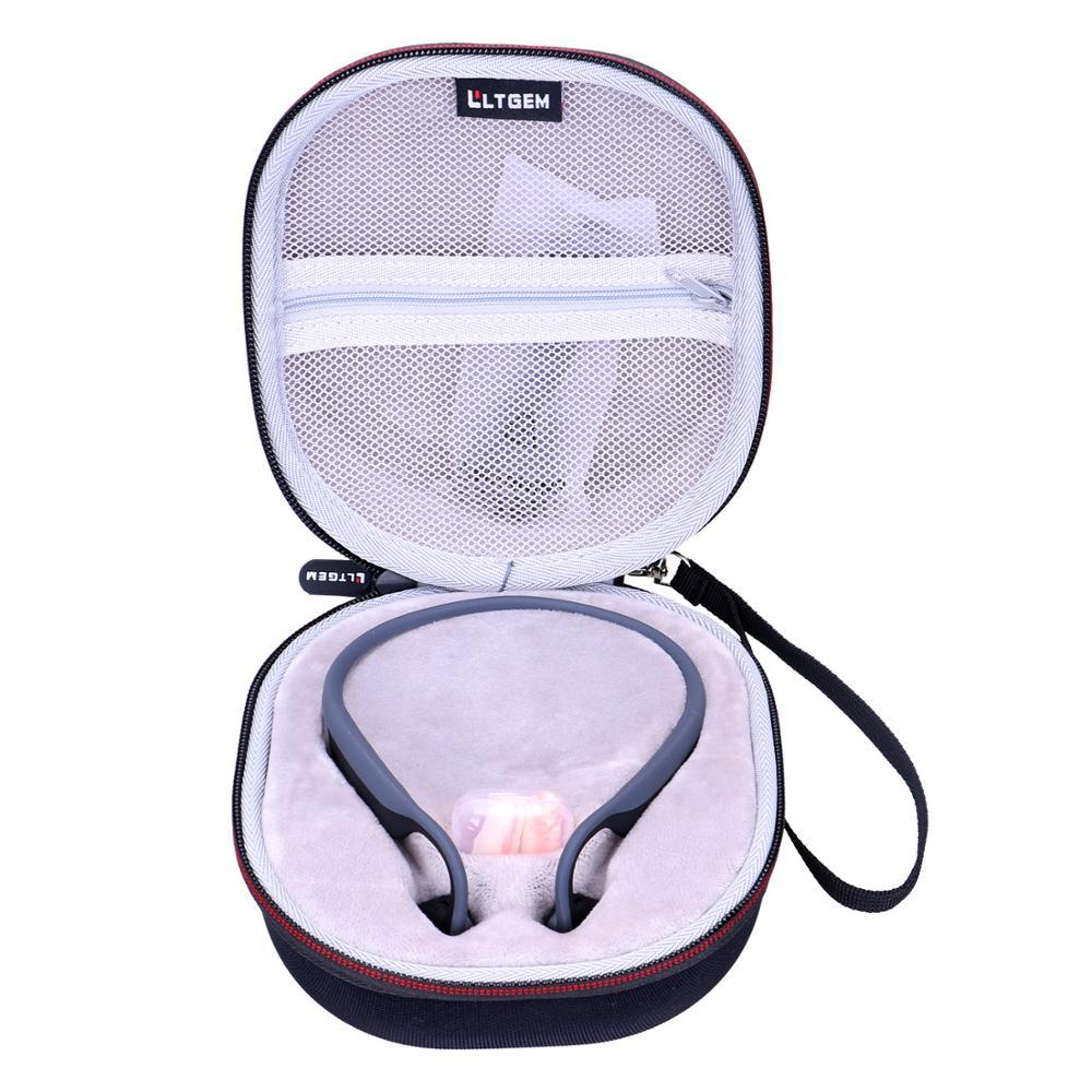 LTGEM EVA Waterproof Carrying Hard Case For AfterShokz Trekz Titanium Open-Ear Wireless Bone Conduction Headphones