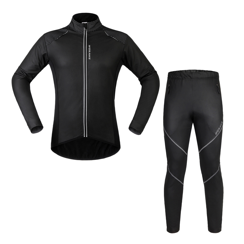 Cycling Jersey Sets Long SLeeve MTB Bicycle Riding Clothing Set Windproof Mountain Bike Jersey Sets Men Women Waterproof Jersey стоимость