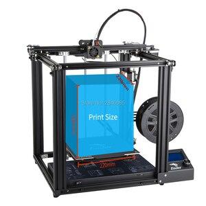 Image 2 - CREALITY 3D מדפסת Ender 5 עם לנדי יציב כוח, V1.1.3 mainboard, מגנטי לבנות צלחת, כיבוי לחדש הדפסת מסכות