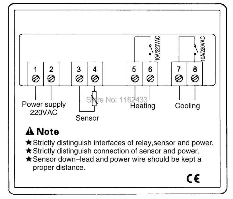STC-1000 defrost temperature controller wiring diagram  sc 1 st  AliExpress.com : stc 1000 wiring - yogabreezes.com