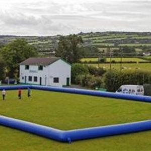 outdoor football field inflata