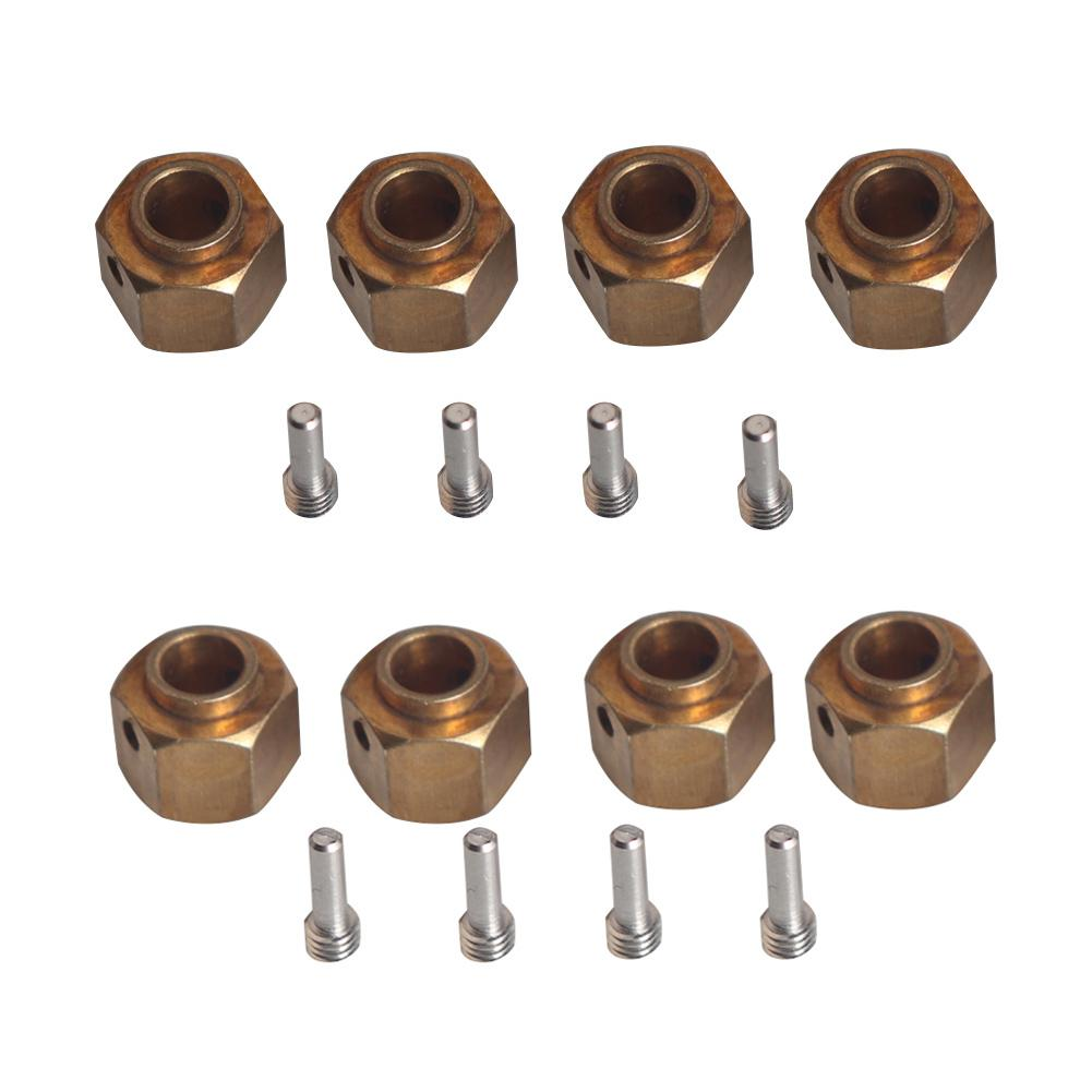 6/8/9/10/11 / 12mm More Than 12mm <font><b>Wheel</b></font> Hub Adapter For Traxxas TRX-4 <font><b>Scale</b></font> Road Axial SCX10 RC 1/10 Car Crawler image