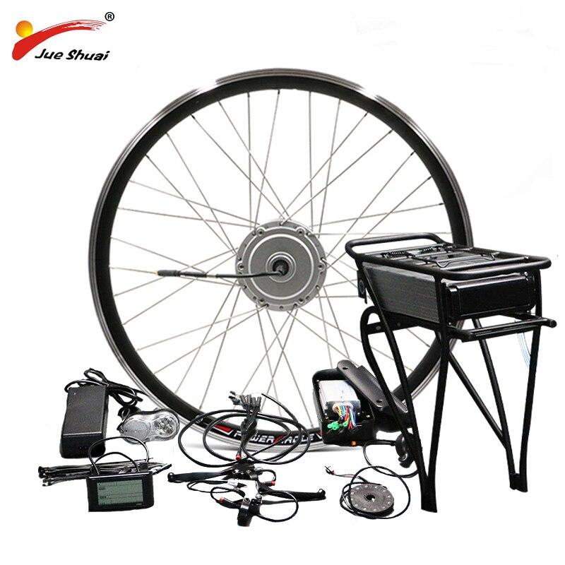 BAFANG 8fun 36 V 48 V vélo électrique Kit de Conversion 250 W 350 W 500 W idéal pour 26 700C 28 Ebike 8fun BMP moteur électrique pour Vélo