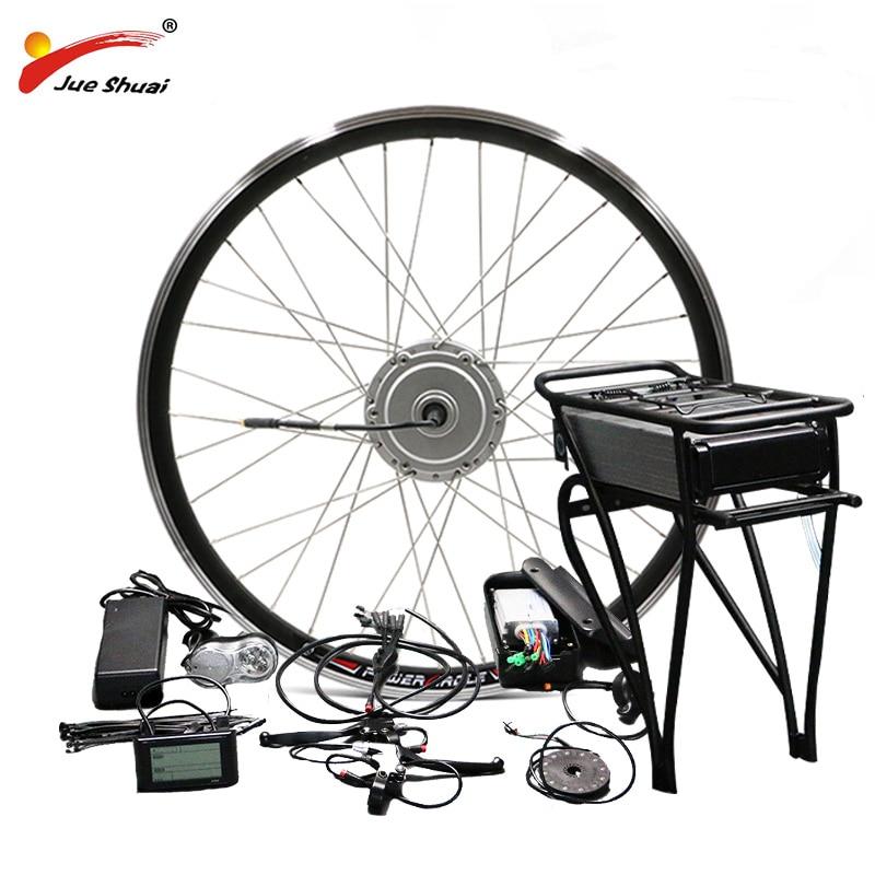 BAFANG 8fun 36V 48V Electric Bike Conversion Kit 250W 350W 500W Fit for 26