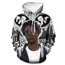 Fashion XXXtentacion mens 3D printing hoodie sweatshirt Harajuku casual sports