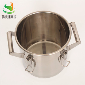 Image 5 - 170L Straight Barrel  with Cover, Milk Can ,Stainless Steel Milk Bucket, Liquild Container