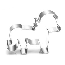 VOGVIGO Animal Suit Baking Mold for Stainless Steel Accessories Handsome Pony Decoration Tools New 2019