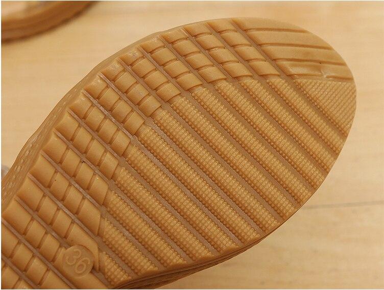 HUANQIU Takozlar Platformu Kadın Sandalet Moda Kaliteli Rahat Bohemian Kadın Sandalet Ayakkabı Yüksek Topuk Altın siyah ayakkabı WFQ32