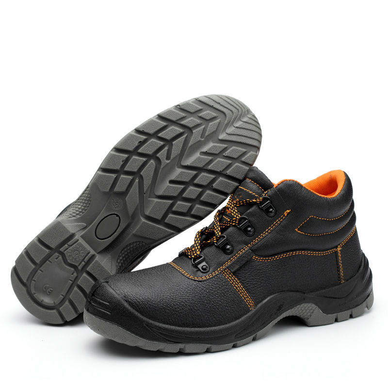 Hot Men Steel Toe Working Shoes Light Weight Safety Shoes Breakproof And Oil-resistant Safety Shoes Industrial Safety Acecare
