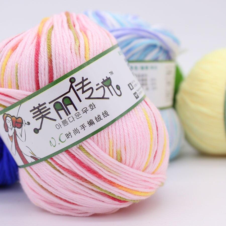 Knitting Yarn Aliexpress : G lot ball balls worsted cashmere cotton soy
