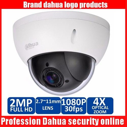 Dahua DH SD22204T GN CCTV IP camera 2 Megapixel Full HD Network Mini PTZ Dome 4x