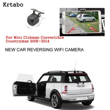 Car wireless rear camera For Mini Clubman Convertible Countryman 2008-2014 reversing HD CCD night vision waterproof high qualit
