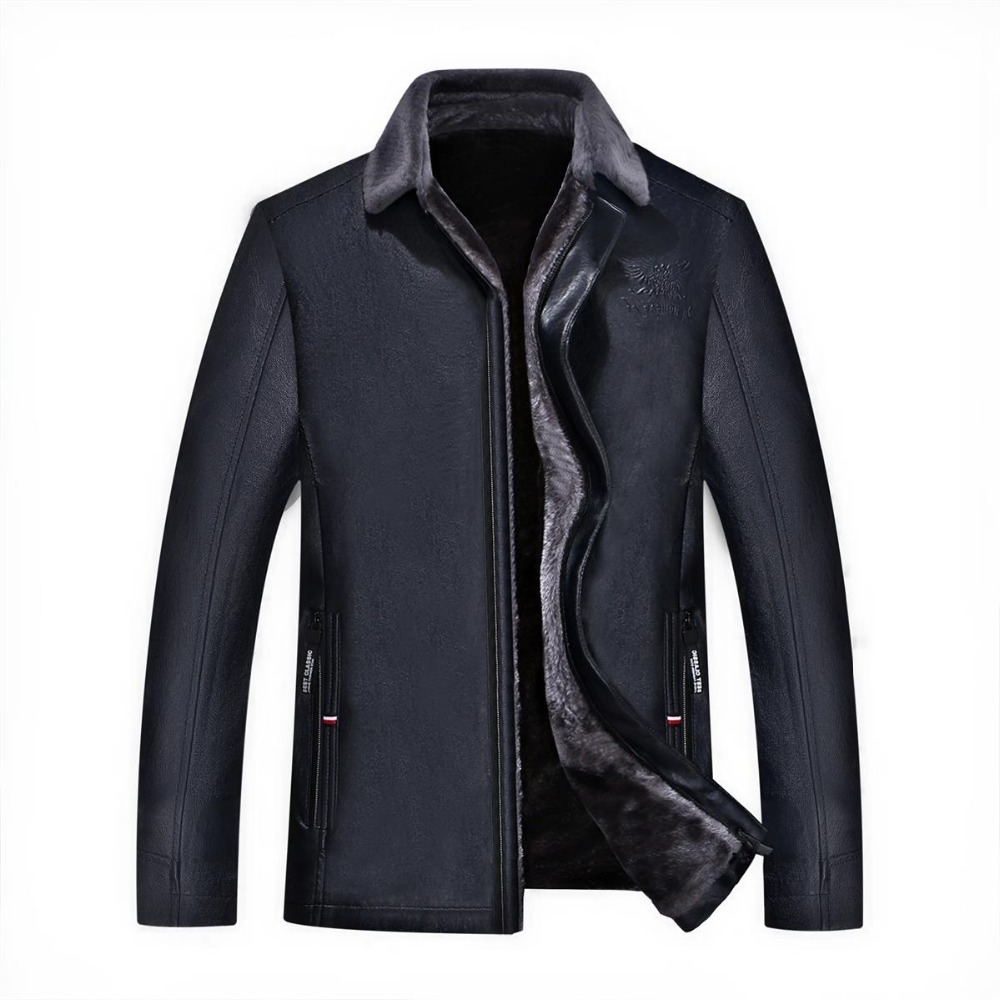 Mens jackets sale - 9xl 8xl 7xl 6xl 5xl 4xl Hot Sale Winter Thick Leather Garment Casual Flocking Leather Jacket