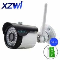 플러그 및 무선 네트워크 IP 카메라 HD 720 마력 적외선 나이트 비전 비디오 감시 카메라