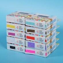 Coins adhésifs pour albums de scrapbooking, 250 pièces, colle écologique, facile d'utilisation, en PVC, 10 couleurs disponibles, 250 pièces/boîte